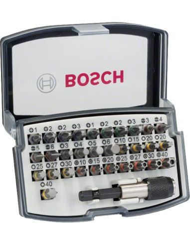 Juego puntas atornillar Bosch 32 pzas